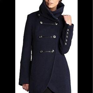 Mackage Diana Khaki Trench Coat Hood jacket